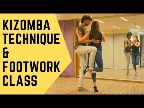 Kizomba Technique & Footwork – Nemanja & Kristel – Int/Adv Level 🎥