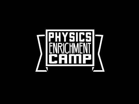 Physics Enrichment Camp 2016 DAY 1 (31 MAY)