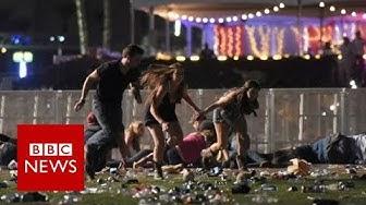 Las Vegas: Mass casualties in Mandalay Bay shooting - BBC News