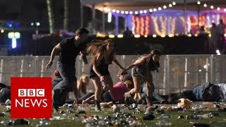 Las Vegas: Mass casualties in Mandalay Bay shooting - BBC News