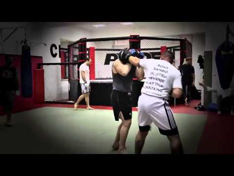Cro Cop training for INOKI Bom-ba-ye with Alessio Sakara