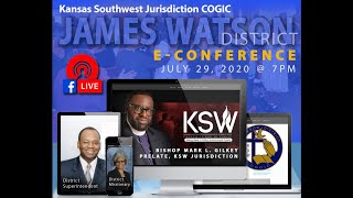 JAMES WATSON DISTRICT E CONFERENCE 2020 - A Virtual Experience
