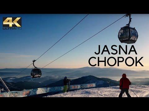 Jasna, Chopok, Nízke Tatry 2017  I 4K skiing (Slovensko, Słowacja, Slovakia trip)
