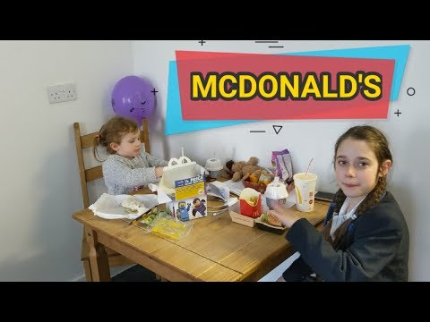 Happy for Mcdonald's #stevesfamilyvlogs