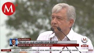 Vicente Fox: López Obrador es un calumniador