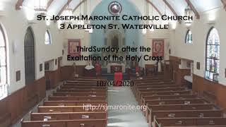 St. Joseph's Maronite Catholic Church 10/04/20