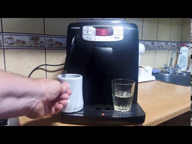 Saeco Intelia vízkötelenítés. Hogyan vízkőtelenítsem a kávéfőzőt? (Így csináld!)