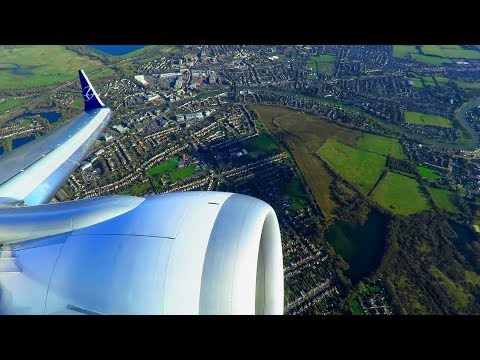 LOT Polish Boeing 737MAX8 ENGINE START and TAKEOFF from London Heathrow Airport!