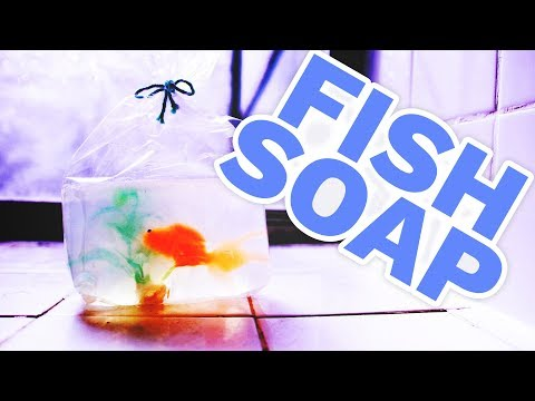 DIY Fish In A Bag Soap - HGTV Handmade