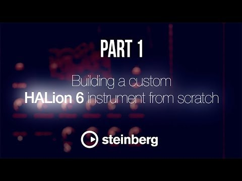 Sampling with HALion 6 - pt 1: Building a custom instrument from scratch