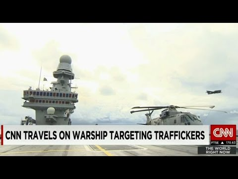 EUNAVFOR MED Media Tour by CNN...