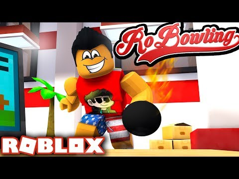 BOWLING PRO w/ Shale in RoBowling!! | Roblox