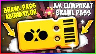 AM CUMPARAT BRAWL PASS-UL + BRAWL PASS GRATIS PENTRU ABONATI    Brawl Stars Romania