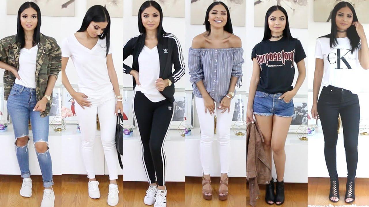 My Outfits Of The Week | Diana Saldana - YouTube