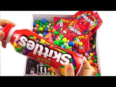Box full of Candy and Sweets\  Baby songs Baby Shark\ Video for children