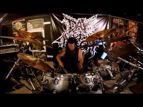 "Day of Doom's ""Epitaph of the Dark Lord"" Drum Tracking"