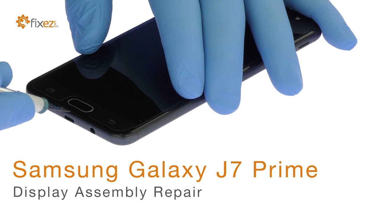 Samsung Galaxy J7 Prime Display Assembly Repair - Fixez com