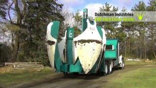 видео Перевозка деревьев и саженцев