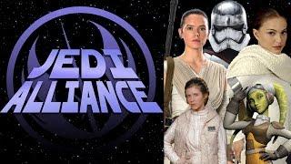 Women In The Star Wars Universe - Jedi Alliance Ep 86