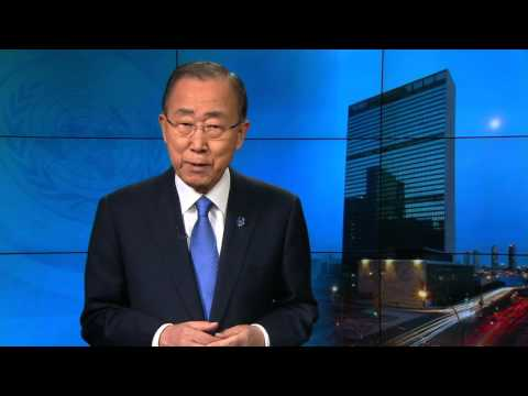 Ban Ki-moon (Secretary-General) on Earth Hour 2016 - Video Message
