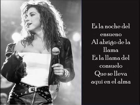 Farolito - Gloria Estefan - (Lyrics)