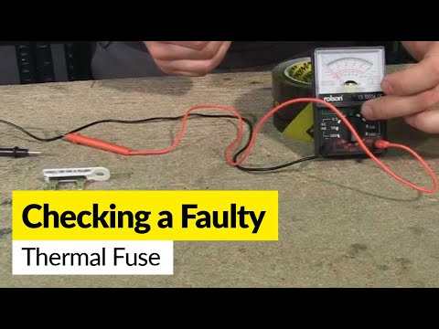 how-to-check-a-faulty-thermal-fuse-using-a-multimeter