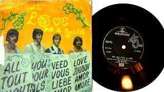 The Beatles - All You Need Is Love - Single Vinyl Unboxing
