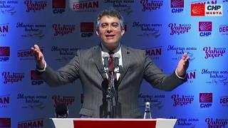 Kemal Kılıçdaroğlu Mersinde 5 Mart 2019