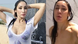 Sofia Hayat's SEXY NUDE SHOWER Video on Instagram