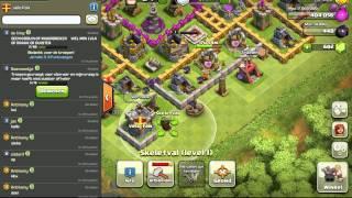 Clash of clans: Town Hall lvl 8 + Super Clan + Binnekort meer clash video's.