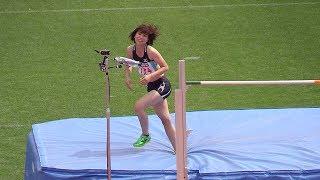 女子走高跳:2ndバー高さ170cm 第101回日本陸上競技選手権大会 ラシツケネ 検索動画 21