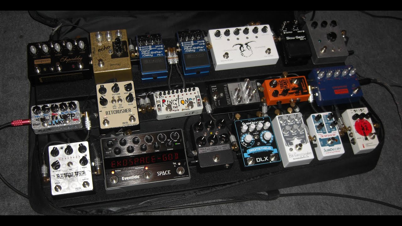 Boutique Pedalboard Looping Monster Board Pedaltrain