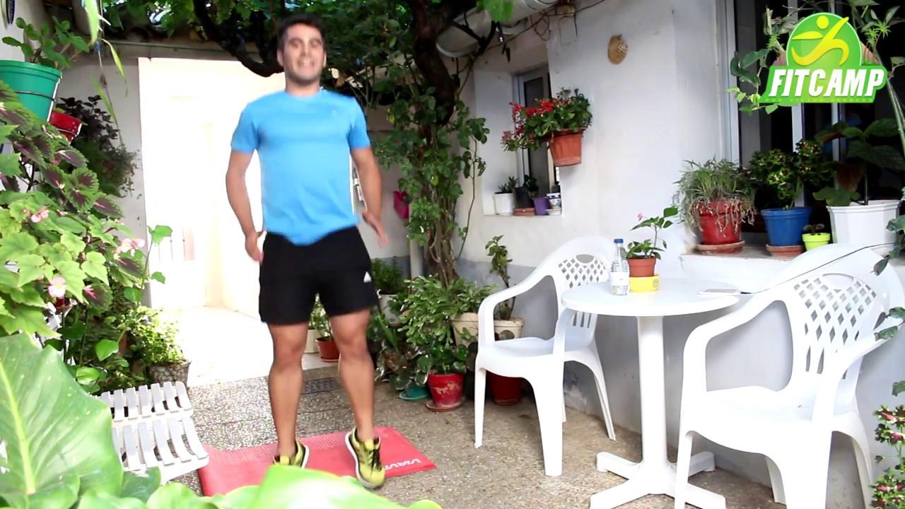 Circuito Quemagrasas : Circuito de ejercicios cardio hiit para quemar grasa en casa sin
