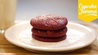 Red Velvet & White Chocolate Chip Cookies  Cupcake Jemma