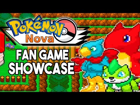 Pokemon Nova - Pokemon Fan Game Showcase FAKEMON OMG!