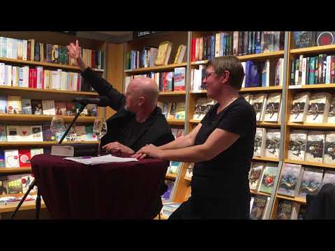 Tad Williams Q&A @ Buchhandlung am Bebelplatz, Kassel, Germany