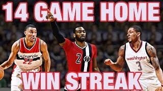 Washington Wizards on a Roll! BEST of 14-Game Home Win Streak