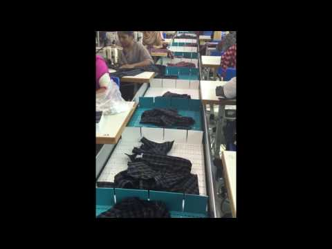 Automatic Conveyer Belt System For Garment To Increase Efficiency
