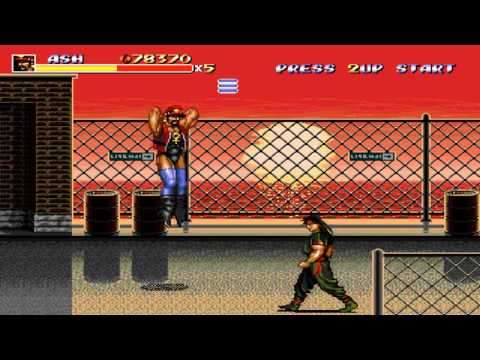 Bare Knuckle III - Ash playthrough