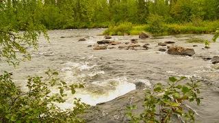Река Явр Мурманская область / The Yavr River Murmansk region