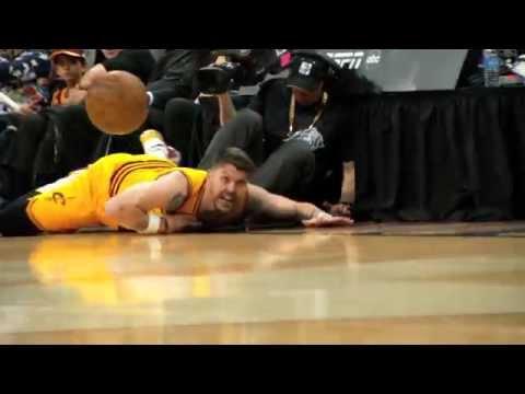 NBA Finals Phantom Raw: Mike Miller's Diving Save