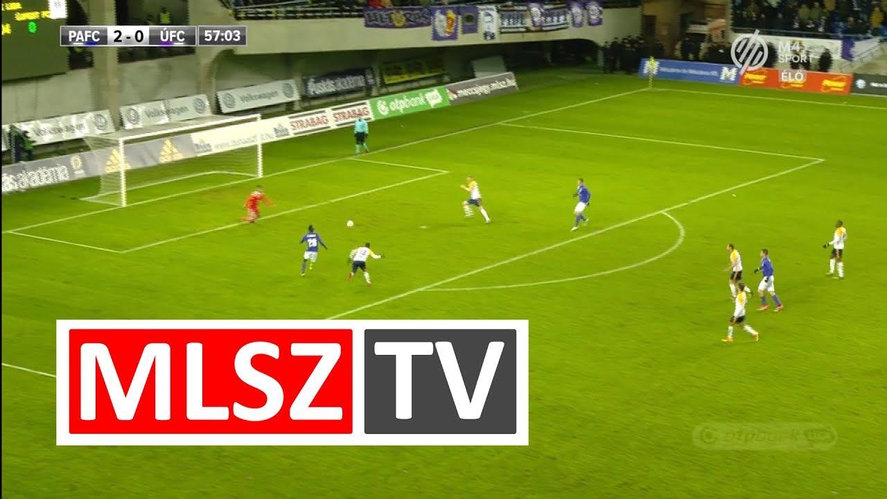 Nwobodo Obinna gólja a Puskás Akadémia FC - Újpest FC mérkőzésen