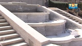 Устранение недостатков, допущеных в ходе ремонта Каскадной лестницы