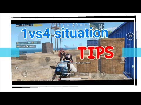 #TELUGU #HOW TO HANDLE #1VS4 SITUATION | #6TIPS #PUBGMOBILE