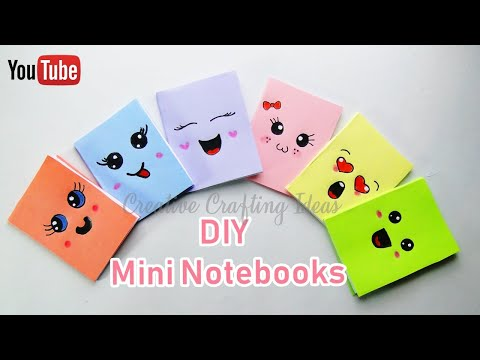 DIY Mini Notebooks With One Sheet of Paper
