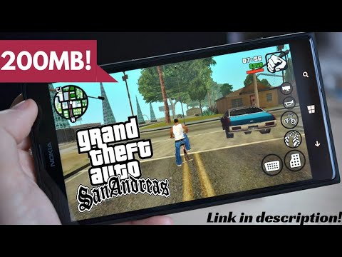 [200MB] GTA San Andreas Apk + Data For Android ✪ Highly Compressed!  #Smartphone #Android