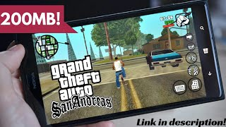 [200MB] GTA San Andreas Apk + Data For Android ✪ Highly Compressed!