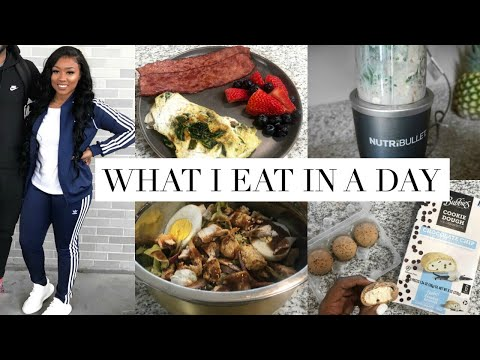 WHAT I EAT IN A DAY TO LOSE WEIGHT | Kathryn Bedell