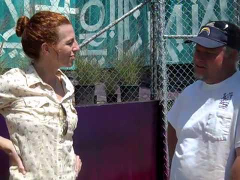 Project SOS, Tanna Frederick, Adam Corlin's graffiti ecoart. Call the  in the video!
