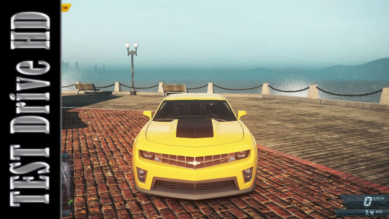 Chevrolet Camaro Zl1 Need For Speed Most Wanted 2012